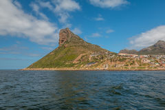 The Sentinel Mountain in Cape town South Africa Stock Photography