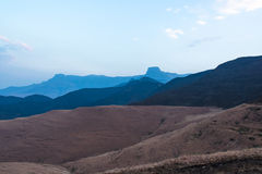 Sentinel Peak at Drakensberg in South Africa Royalty Free Stock Image