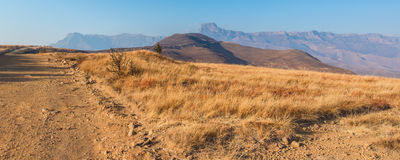 Sentinel Peak at Drakensberg in South Africa Royalty Free Stock Photos