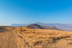 Sentinel Peak at Drakensberg in South Africa Royalty Free Stock Photo