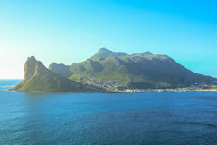 Sentinel peak in Hout Bay Stock Photos