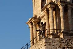 The Sentinel, Rhodes Stock Photo