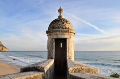 Sentinela-caixa de Fortress's e a vista fotografia de stock