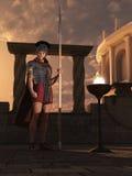 Sentinela romana ilustração do vetor