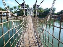 sentosa моста стоковое фото rf