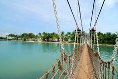 sentosa моста Стоковая Фотография RF