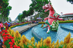 Sentosa Flower Festival 2012 Royalty Free Stock Images
