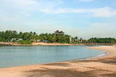 Sentosa. Here is the famous tourist attractionssentosa Stock Photo