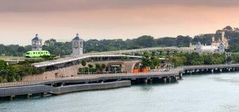 Sentosa Island shore Royalty Free Stock Photo