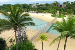 Sentosa island in Singapore Stock Images