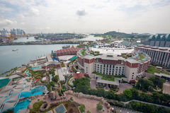 Sentosa island in Singapore Royalty Free Stock Photo