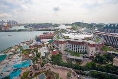 Sentosa island in Singapore Royalty Free Stock Photo