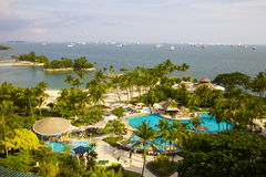 Sentosa island  view Stock Images