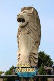 Sentosa Merlion Stock Photo