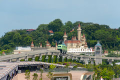 Sentosa Resort Island royalty free stock photos