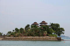 Sentosa`s Southernmost Point Stock Photography