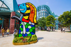 Sentosa Singapore royalty free stock image