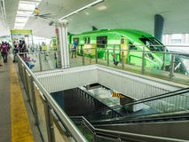 Sentosa station with tourism Stock Image