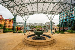 Sentosa wyspa przy Singapur Zdjęcie Royalty Free