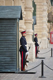 Sentries at Grandmasters Palace, Valletta Royalty Free Stock Photos