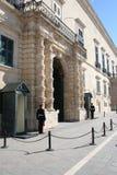 Sentries at Grandmasters Palace, Valletta Stock Photos