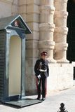 Sentries at Grandmasters Palace, Valletta Royalty Free Stock Images