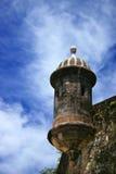 Sentry box. A sentry box at Old San Juan city Stock Image