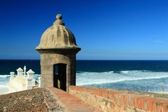 Free Sentry Box And Ocean Royalty Free Stock Image - 13965636