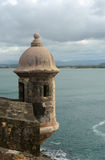 Sentry Box at Castillo San Felipe del Morro, San Juan Stock Photos
