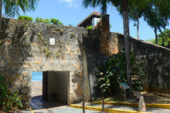 Sentry Box at Castillo San Felipe del Morro, San Juan Royalty Free Stock Photos