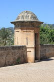 Sentry box at Dalt Murada Royalty Free Stock Photo