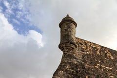 Sentry at Del Morro Royalty Free Stock Image
