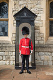 Sentry guard at the Tower of London Royalty Free Stock Image