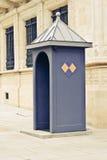 Sentry pudełko om Luksemburg Zdjęcie Royalty Free