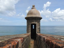 Sentry, Puerto Rico Stock Photo