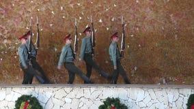 Sentry strażnik honorów marsze zbiory