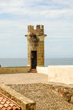 Sentry tower in a fortress Stock Images