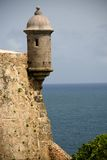 Sentry tower in San Juan Stock Photography