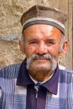 SENTYAB, L'UZBEKISTAN - 14 MAGGIO 2011: Ritratto di un agricoltore dell'Uzbeco nel villaggio di Sentyab Immagine Stock Libera da Diritti