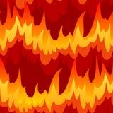 Senza giunte con fuoco royalty illustrazione gratis
