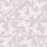 Senza giunte con le farfalle Fotografia Stock
