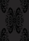 Senza giunte gotico sottile nel nero Fotografia Stock Libera da Diritti