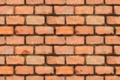 Senza giunte ripeti il vecchio muro di mattoni (ripetibile entrambi Immagine Stock Libera da Diritti