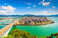 Senzaki in Japan royalty free stock images