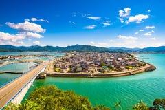 Senzaki, Yamaguchi, Japan royalty-vrije stock foto's
