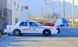 Senzatetto assassinato in Chilliwack, BC fotografie stock