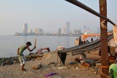 Senzatetto indiano Fotografie Stock Libere da Diritti