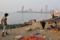 Senzatetto indiano Fotografia Stock Libera da Diritti