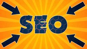 Seo图表006 -准备好图表 库存例证