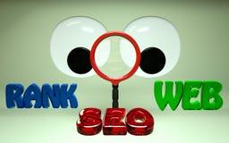 SEO搜索引擎优化等级HD 免版税库存图片